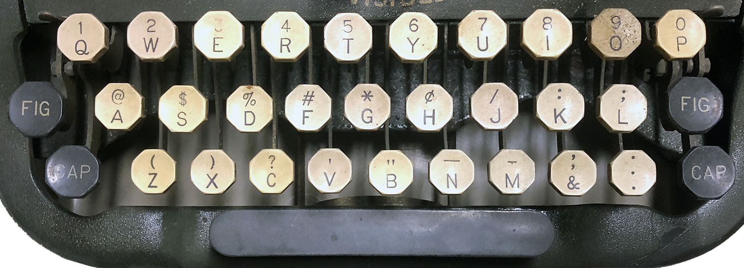 Oliver No. 9 Alternate Keyboard