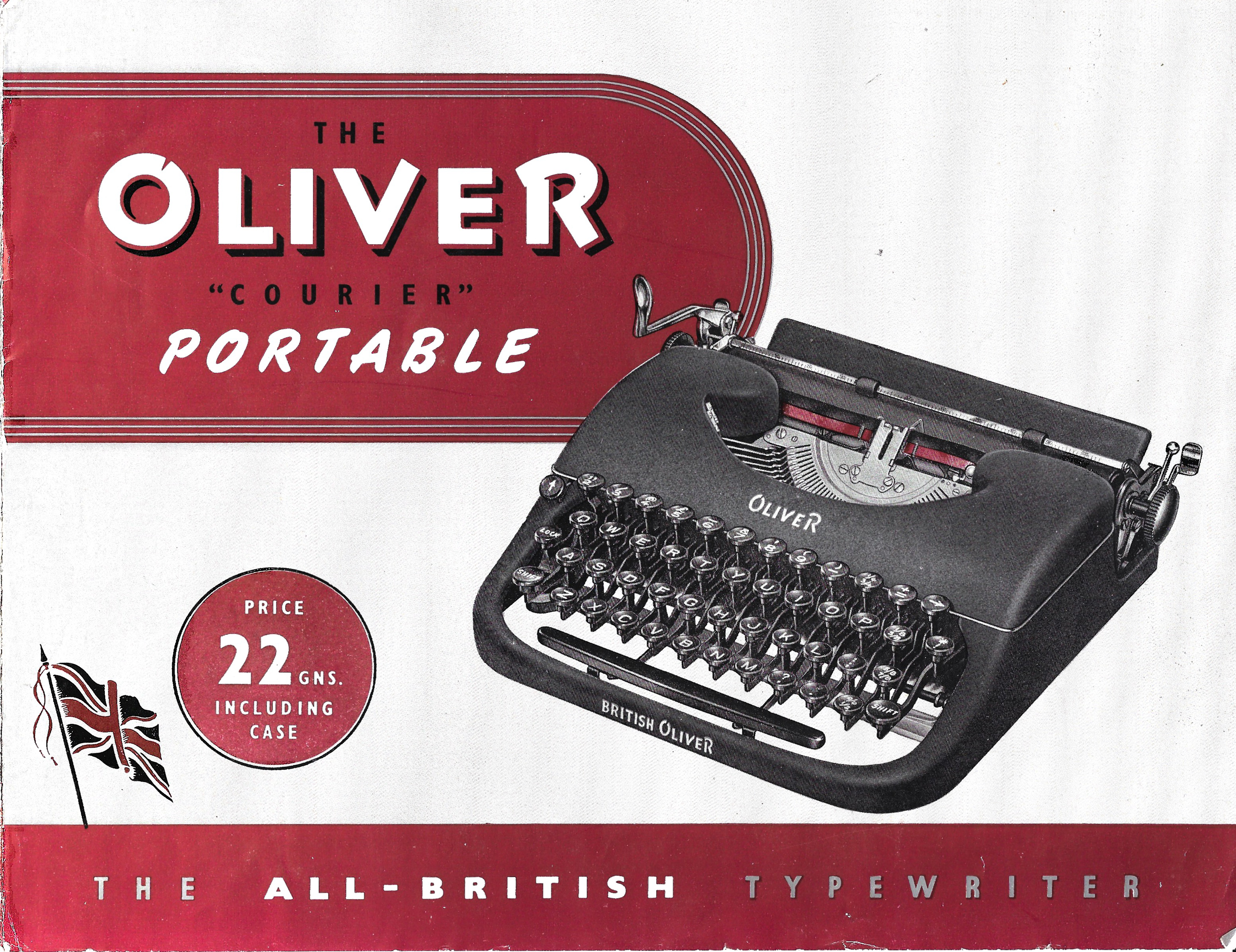 Oliver Courier Pamphlet