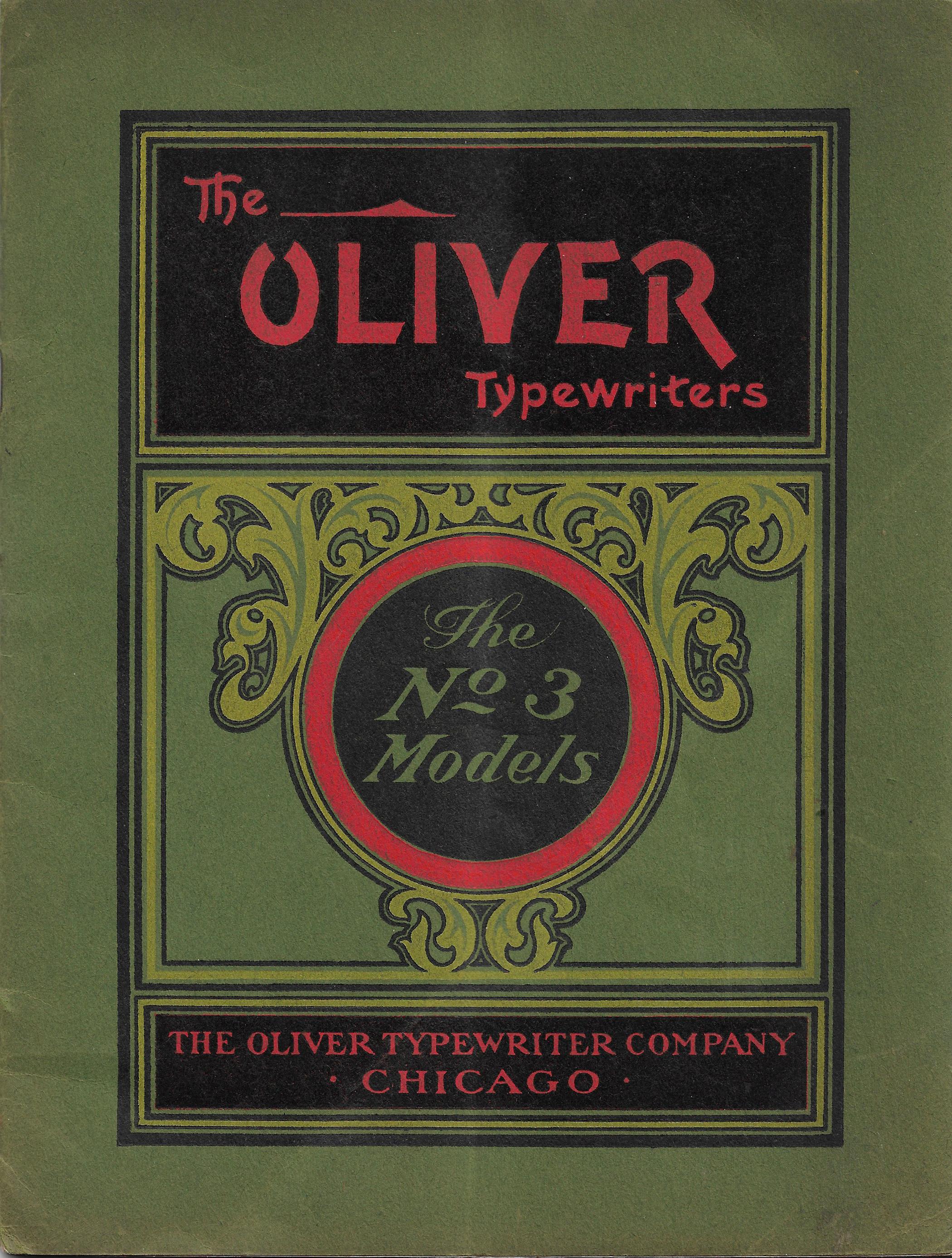 Oliver No. 3 Models