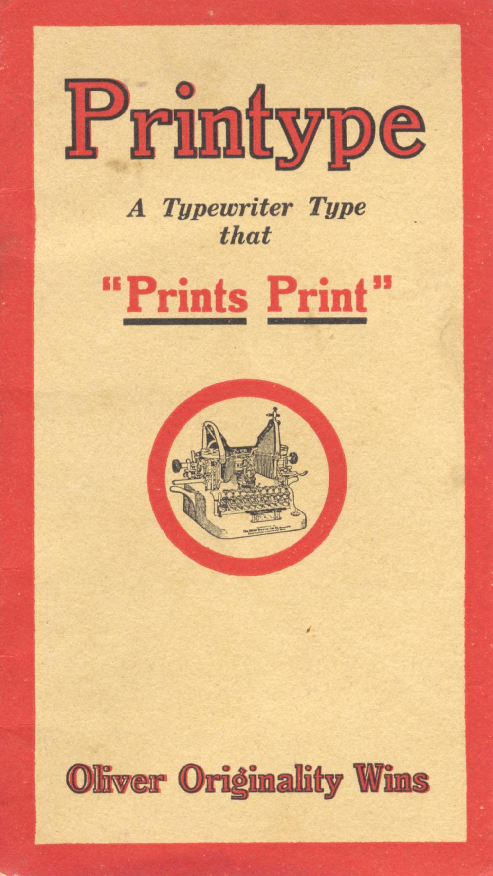 Oliver Printype