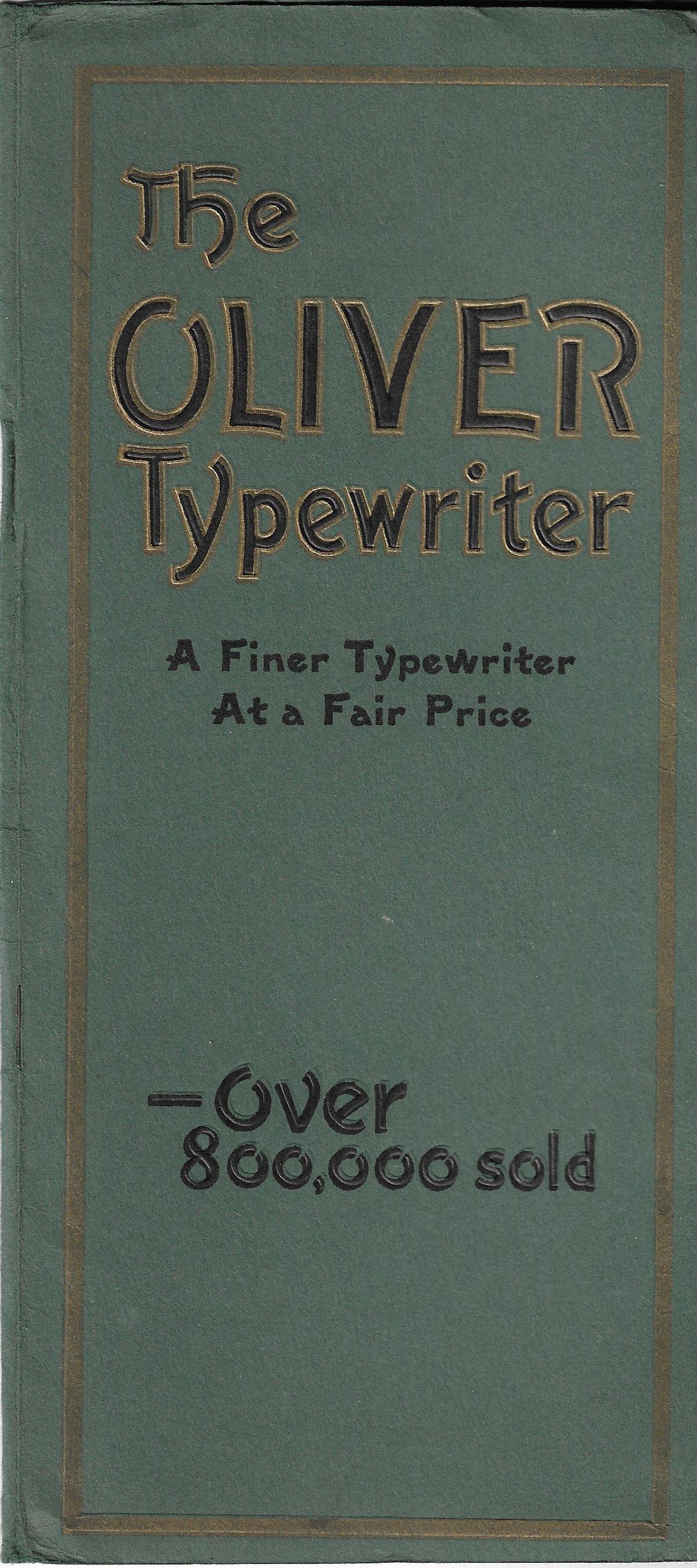 Oliver No. 9 Brochure